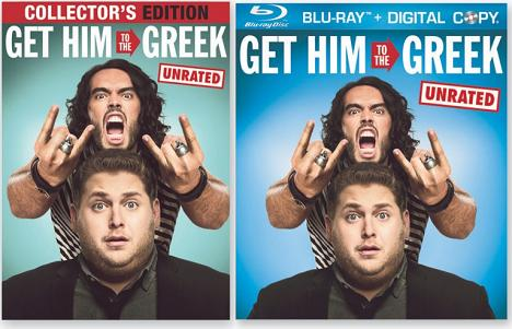 Get him to the Greek: on Blu-Ray hi-def and DVD this September.